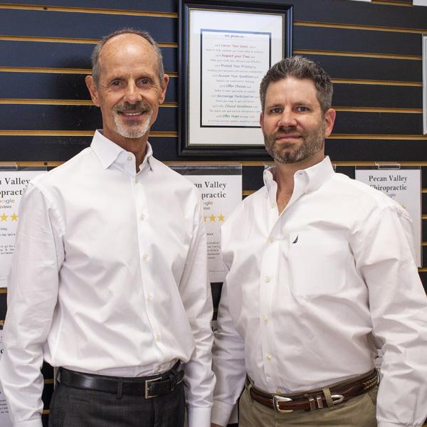 Chiropractor San Antonio TX Brad Cudnik and Keith Taylor